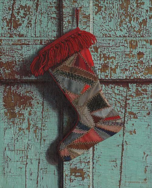 Crazy Quilt Stocking – $60.00
