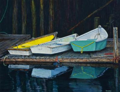 Three Dinghies